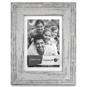 Silver old- made vintage picture frame for photos size 15...