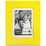 Matt yellow photo frame for image size 13 x 18