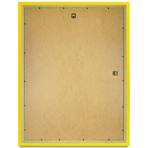 390 x 490 mm yellow photo frame with glass pane for...