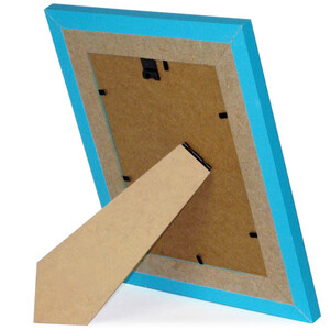 Picture frames 25 x 31 cm wooden frame turquoise glass...