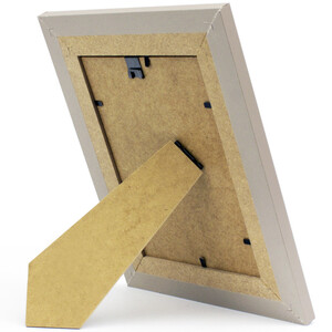 Picture frame 22x28 cm beige with glass pane 15 x 21 cm...