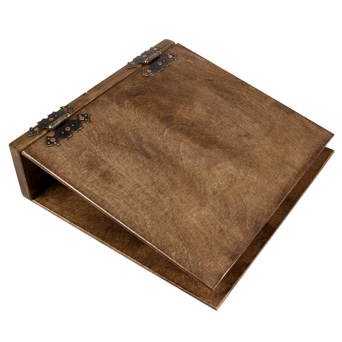 dunkler aktenordner a4 ordner aus holz. Black Bedroom Furniture Sets. Home Design Ideas