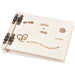 50-sheet photo album with your personal engraving