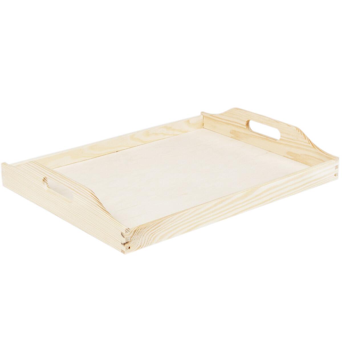Plateau en bois 30 x 40 cm plateau en bois clair pour for Plateau bois cuisine