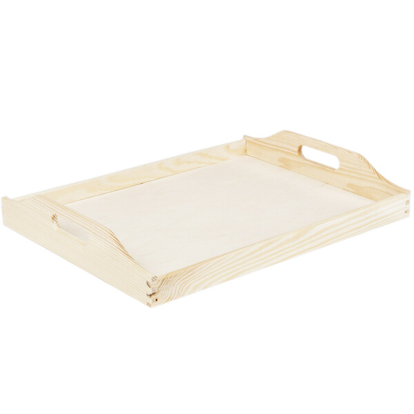 Wooden tray 30 x 40 cm tray platter wooden bright for your kitchen