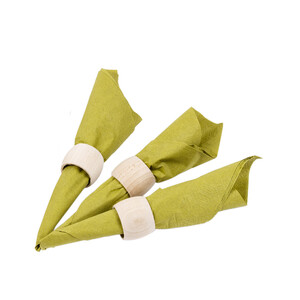 Wooden napkin rings serviette ring diameter 32 mm dinner...