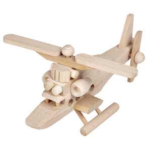 Wooden toy helicopter wooden chopper