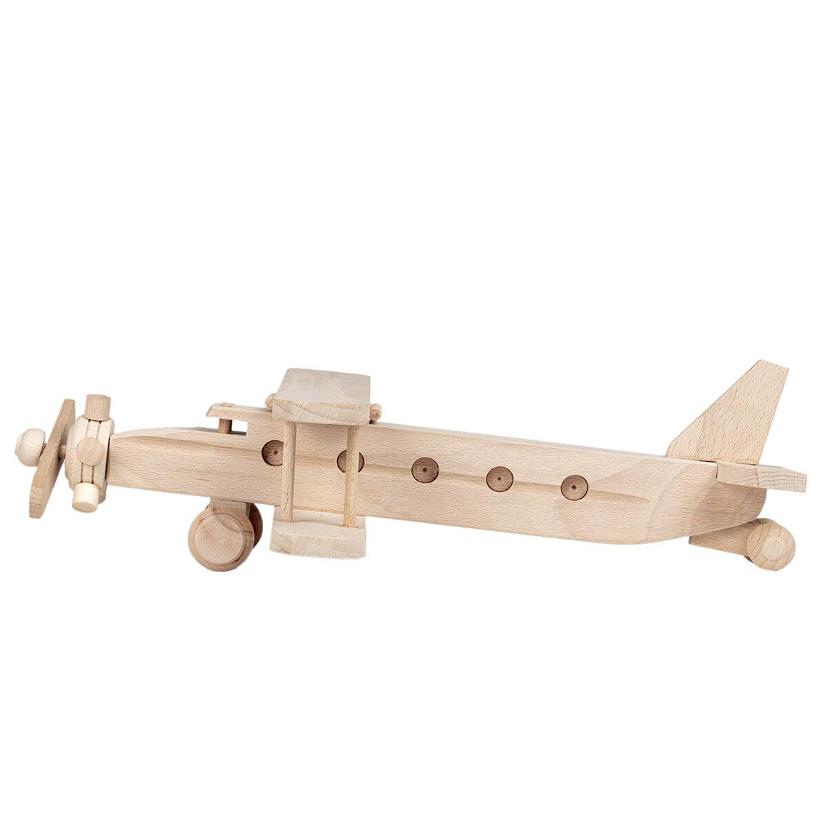 Holzspielzeug flugzeug hubschrauber aus holz spielzeug