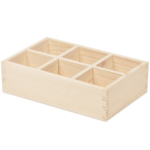 Storage box wooden box without lid