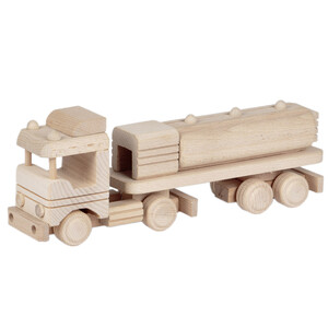 Wooden tanker toy truck tank truck wooden toys