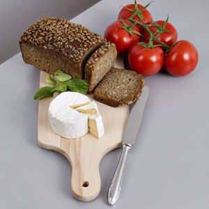 Every day breakfast board with handle 35,5 x 15,5 cm supper