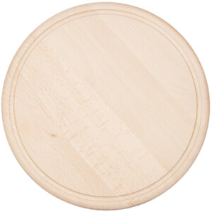 Cutting board round Ø 30 cm wooden cutting board carving...