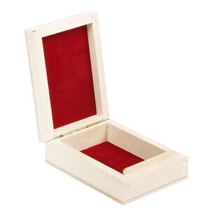 Box gift ring box jewelry box natural wood