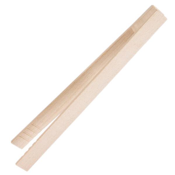 food clip wooden tongs toast 22 cm Wooden pliers beech