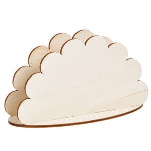 Napkin dispenser cloud shaped wooden napkin holder table...