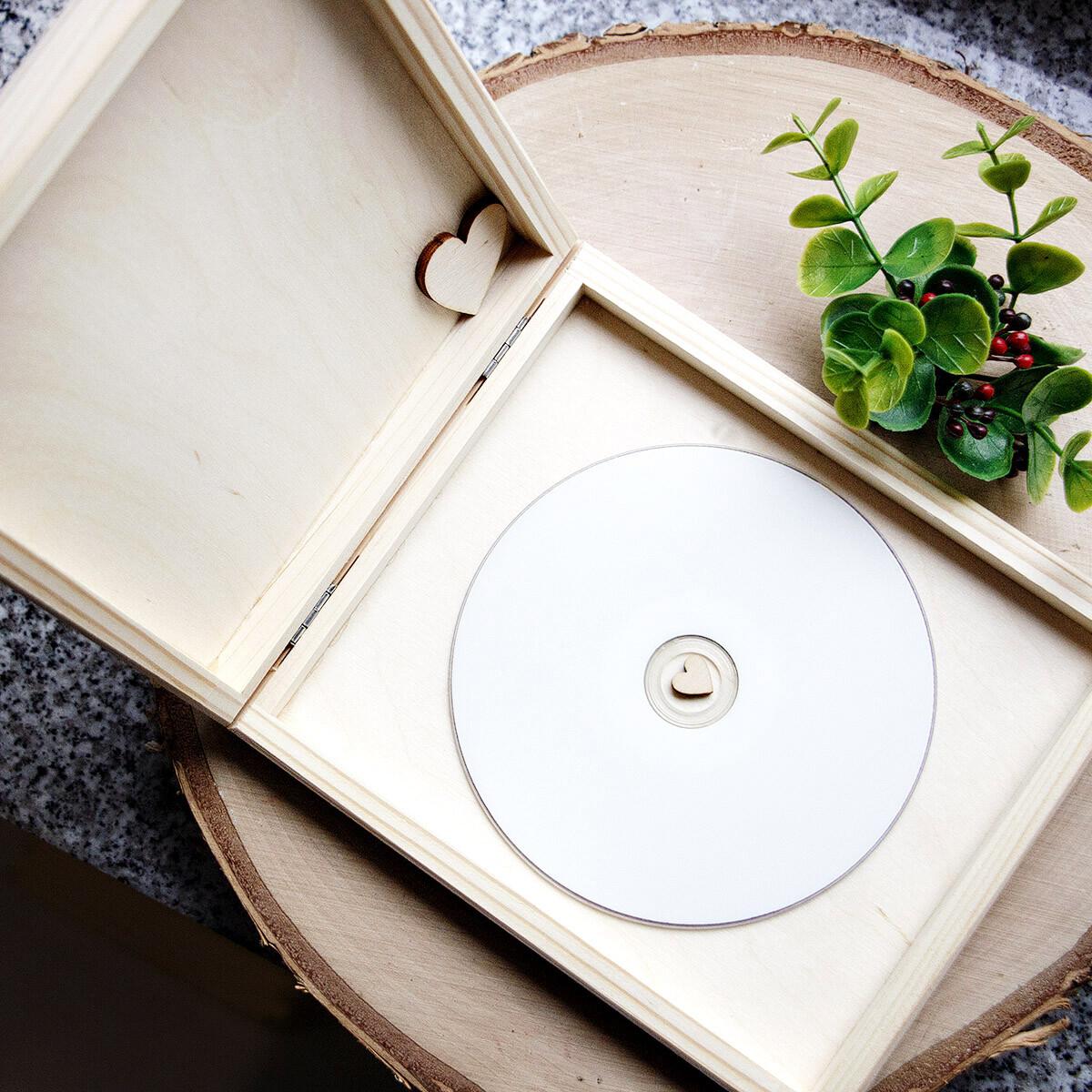 cd box 16 5 x 14 5 x 2 5 cm holzkiste klappkiste flache. Black Bedroom Furniture Sets. Home Design Ideas