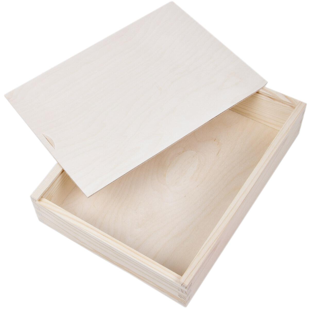 fotokiste fotobox 21 x 28 cm schiebedeckel kiste holz aufbewahrungski. Black Bedroom Furniture Sets. Home Design Ideas
