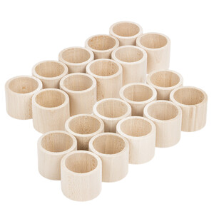 20 pieces home accessories straight shape wooden napkin...