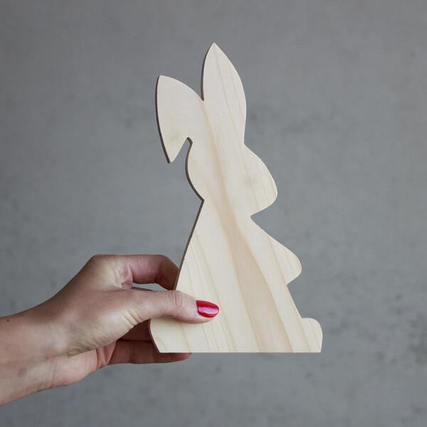 Holz Hand Deko Basteln 3-50cm