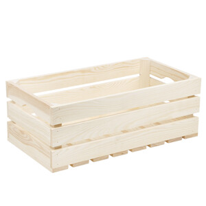Wooden crate, wooden box for wine, crate for fruits