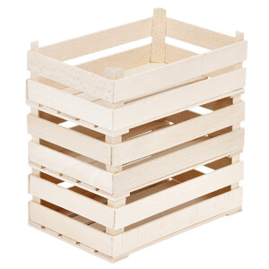 3 large wooden crates wood boxes decorative boxes natural...